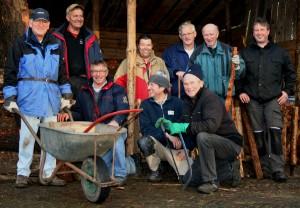WS 05 - Vrijwilligers -groep-Buitenkerststalbouwers-2012