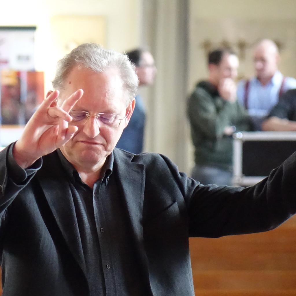 Dirigent Frank Sterenborg